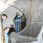 dvostruko zavojite stepenice